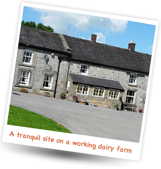 Brundcliffe Farm - a tranquil site on a working dairy farm.